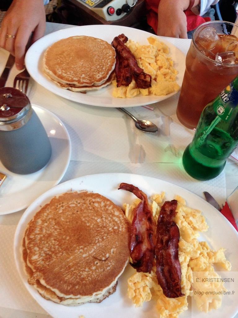 L'américanisation du petit-déj à Paris ;)